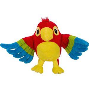 ročna-lutka-papagaj